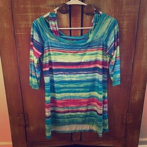 Peck and Peck multicolored top